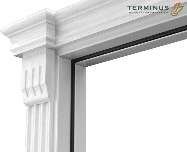 Двері міжкімнатні Terminus Caro 41 ПО ясень білий
