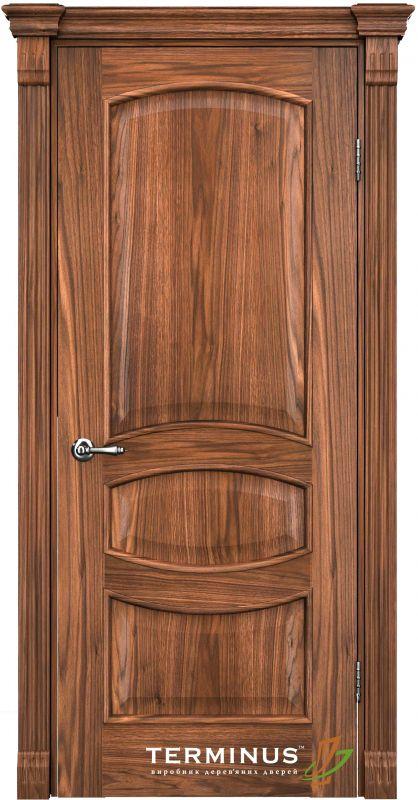Двері міжкімнатні Terminus Caro 50 ПГ горіх американський