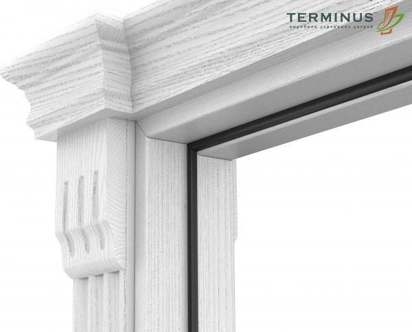 Двері міжкімнатні Terminus Caro 50 ПО ясень білий