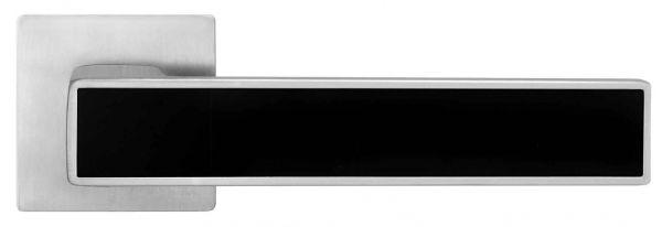 Ручка Linde A-2015/E20 MCBlack матовий хром/чорна