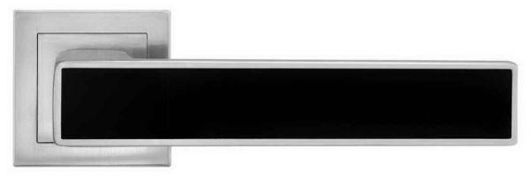 Ручка Linde A-2015 MCBlack матовий хром/чорна