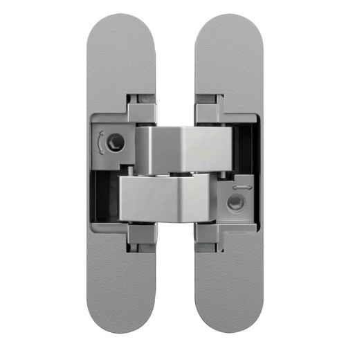 Завіса для дверей прихованого монтажу AN 140 3D MC матовий хром