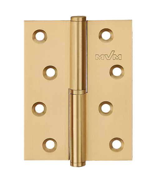 Завіса для дверей з'ємна права B-100 R SB матова латунь