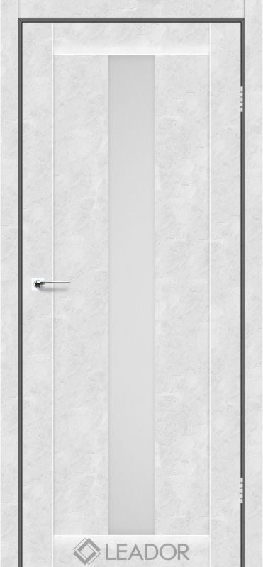 Bari Sincrolam бетон білий скло сатин