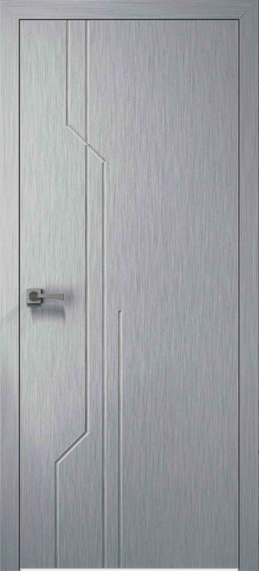 Дверне полотно Skyline Базіс X хром