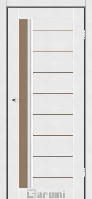 Двері міжкімнатні Darumi-Bordo білий текстурний br