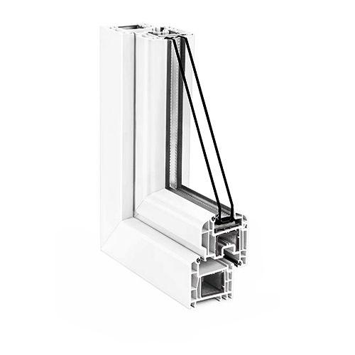 Вікно REHAU Brillant-Design 1510х1550 мм