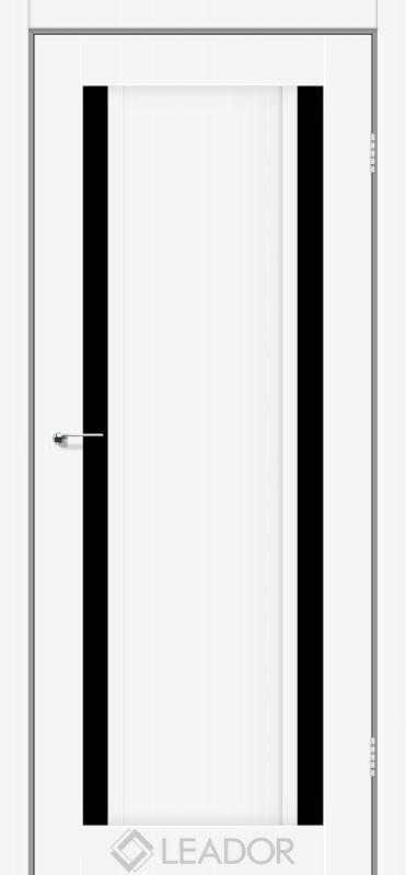 Catania Sincrolam білий матовий чорне скло
