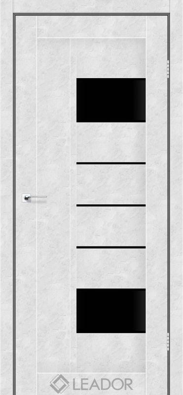 Como Sincrolam бетон білий чорне скло