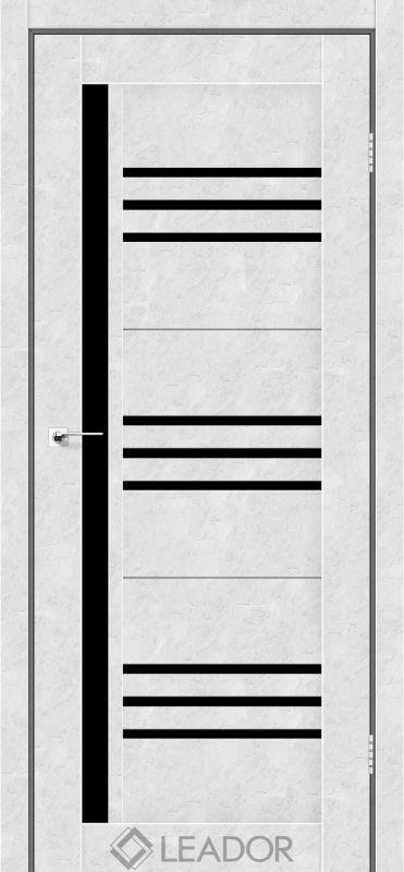 Compania Sincrolam бетон білий чорне скло