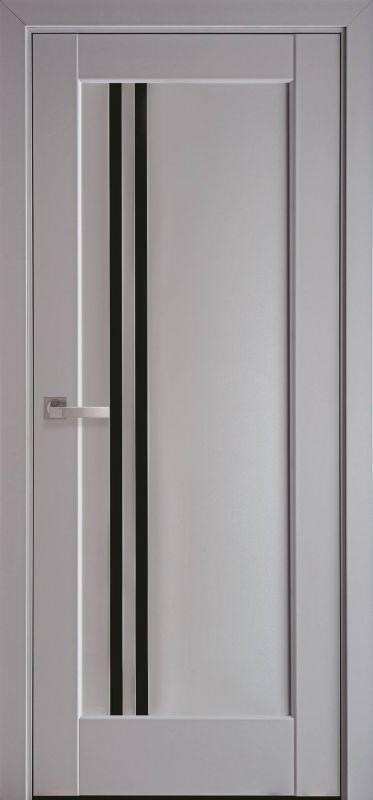 Дверне полотно Ностра Делла blk сіра пастель