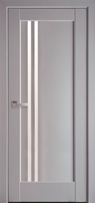 Дверне полотно Ностра Делла сіра пастель