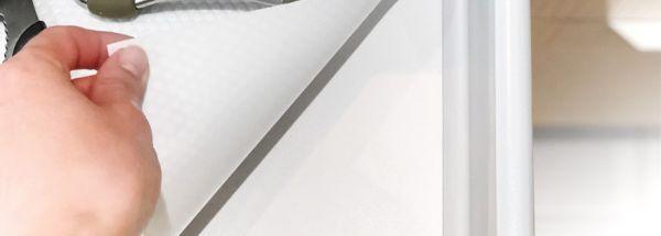 Килимок для полиць та ящиків DM W білий