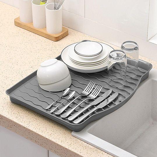 Сушка для посуду DR 01 сіра
