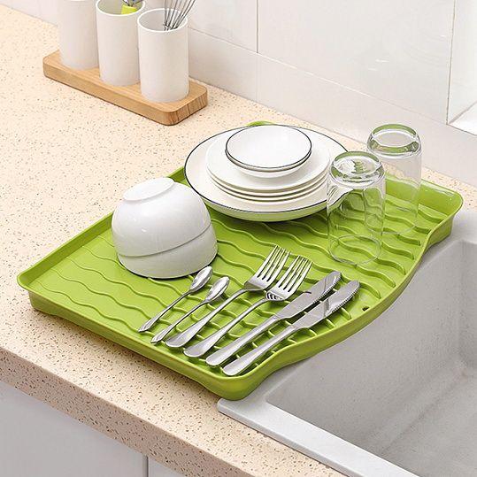 Сушка для посуду DR 01 зелена