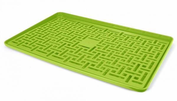 Сушка для посуду з піддоном DR 04 зелена