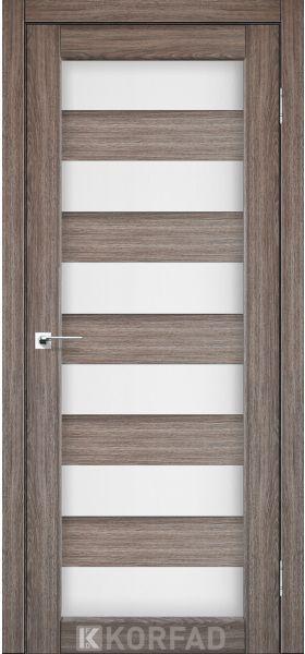 Дверне полотно Korfad Porto PR-04 дуб грей