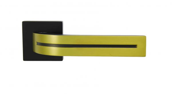 Ручка Siba E02 Kometa чорний/золото матове