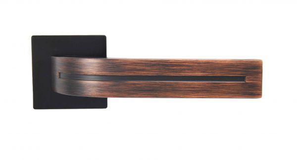 Ручка Siba E02 Kometa чорний/бронза венге
