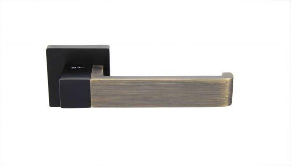 Ручка Siba E03 Rondo чорний/бронза антична