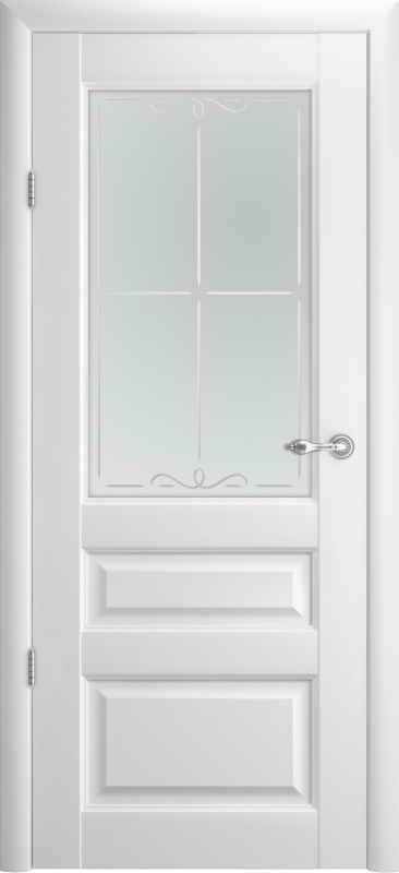 Дверне полотно Albero Hermitage 2 Vinil білий
