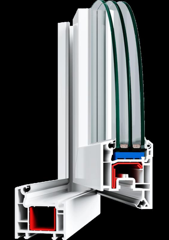 Вікно Veka Euroline 2100*1400 мм.