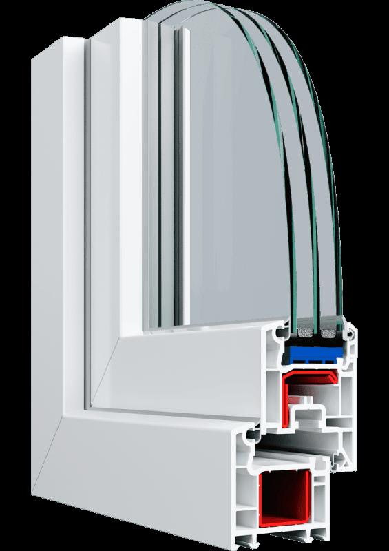 Балконна рама Veka Euroline 2900*1600 мм.