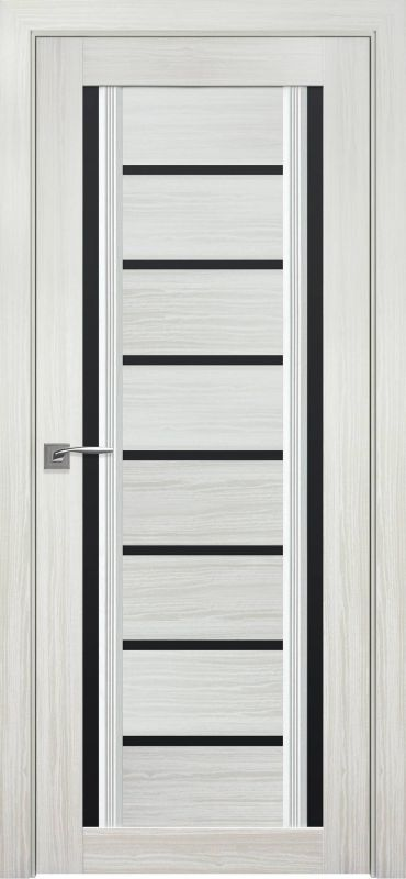 Дверне полотно Італьяно Флоренція С2 blk перлина біла