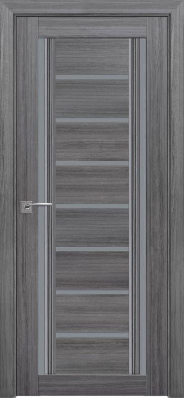 Дверне полотно Італьяно Флоренція С2 перлина графіт