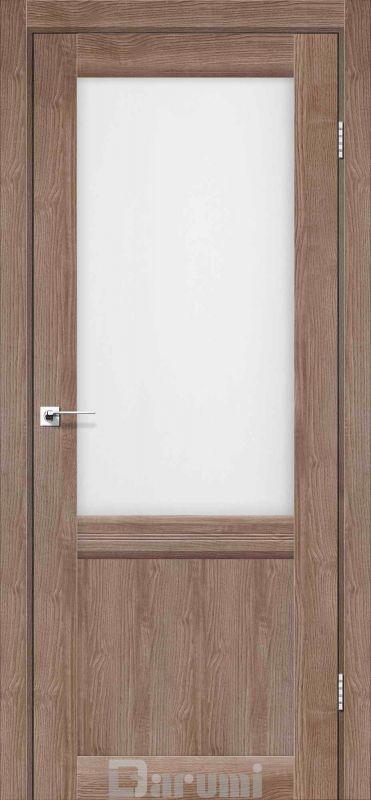 Двері міжкімнатні Darumi-Galant Gl-01 горіх бургун