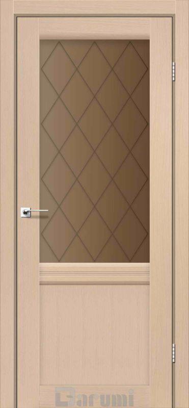 Двері міжкімнатні Darumi-Galant Gl-01 + D1 дуб боровий br