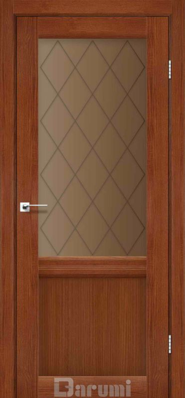 Двері міжкімнатні Darumi-Galant Gl-01 + D1 горіх роял br