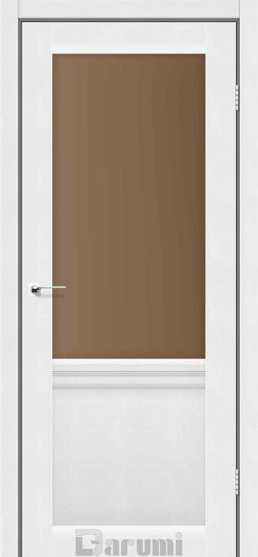 Двері міжкімнатні Darumi-Galant Gl-01 + D1 білий текстурний br