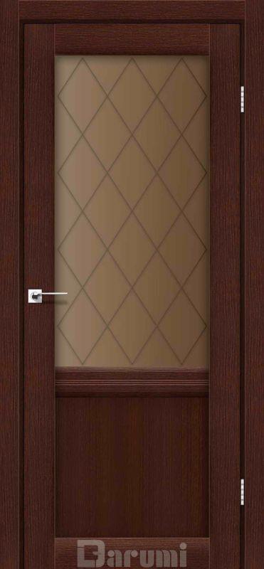 Двері міжкімнатні Darumi-Galant Gl-01 + D1 венге панга br