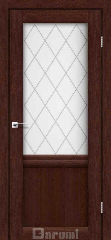 Двері міжкімнатні Darumi-Galant Gl-01 + D1 венге панга