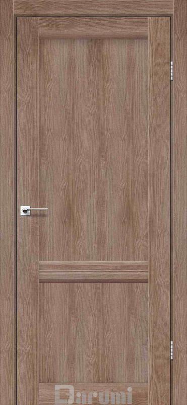 Двері міжкімнатні Darumi-Galant Gl-02 горіх бургун