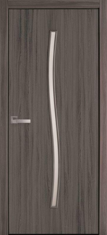 Гармонія екошпон дуб атлант скло сатин