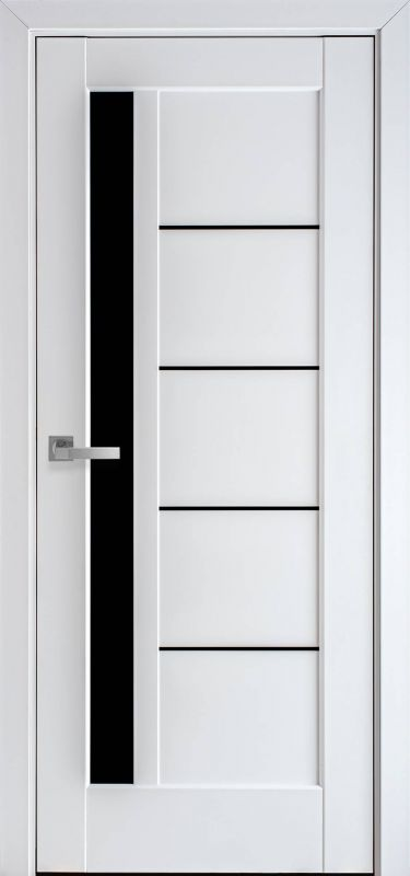 Дверне полотно Ностра Грета blk білий матовий