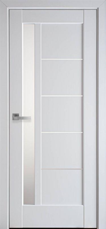 Дверне полотно Ностра Грета білий матовий
