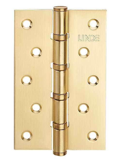 Завіса для дверей універсальна H-100 PB полірована латунь