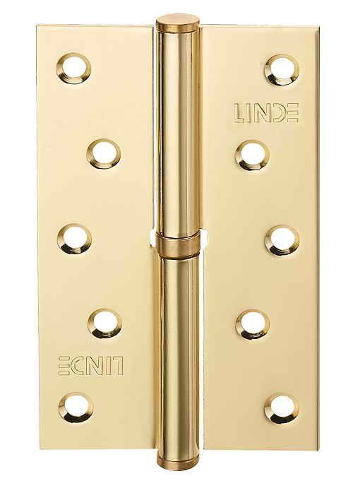 Завіса для дверей з'ємна права H-120 R PB полірована латунь