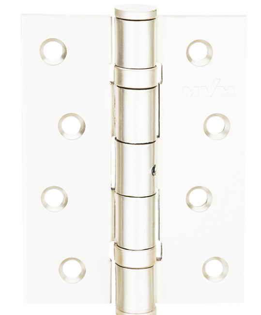 Завіса для дверей універсальна розбірна HE-100 W біла