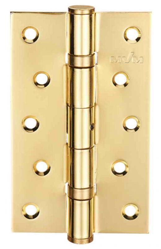 Завіса для дверей універсальна розбірна HE-120 PB полірована латунь