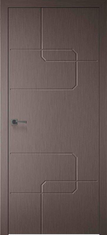 Дверне полотно Skyline Кубо X мокко