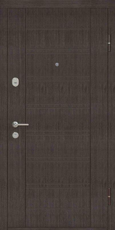 Двері вхідні Riccardi-Standart Laguna венге/венге