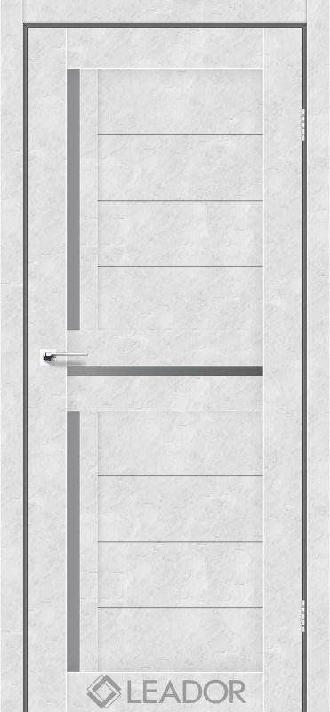 Lazio  Sincrolam бетон білий скло графіт