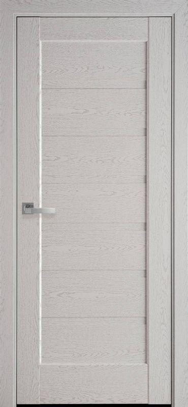 Дверне полотно Ностра Ліннея ПГ патина сіра