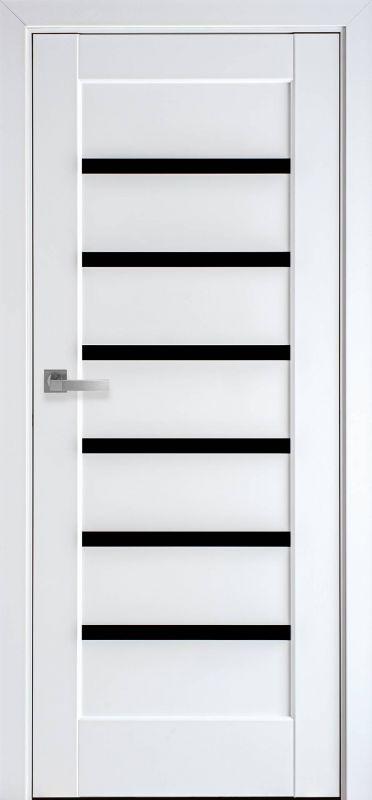 Ліннея ПП Преміум білий матовий чорне скло