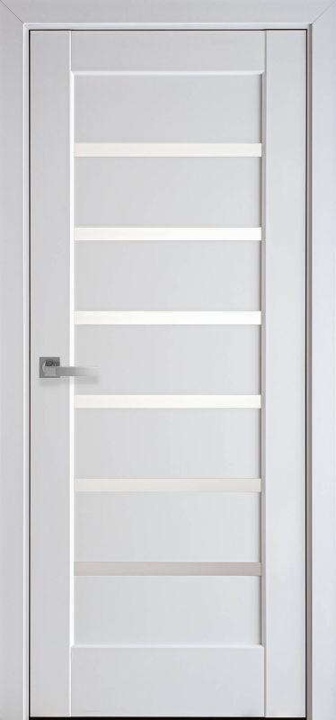 Дверне полотно Ностра Ліннея білий матовий