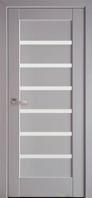 Дверне полотно Ностра Ліннея сіра пастель
